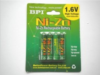 4 Pcs Lot 1 6v Aaa 1000mWh Rechargeable Battery Nizn Ni Zn Aaa Rechargeable Battery
