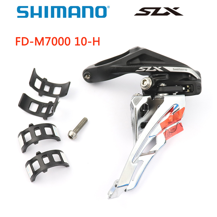 FD-M671A SHIMANO SLX Dyna-Sys 3x10 Mountain Bicycle Front Derailleur