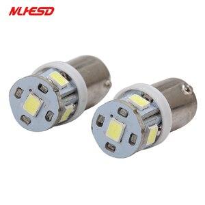 Image 3 - 100PCS ba9s t4w Bayone tw5w AC 6V/6.3V 8v 2835 5SMD LED Pinball Machine Light Bulb Lamp Non ghosting/anti flickering Eight color