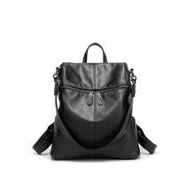 RDGGUH Brand Korean Version Women Oxford Cloth Backpack for Teenage Girl Black Waterproof Shoulder Bag Large Capacity Travel Bag