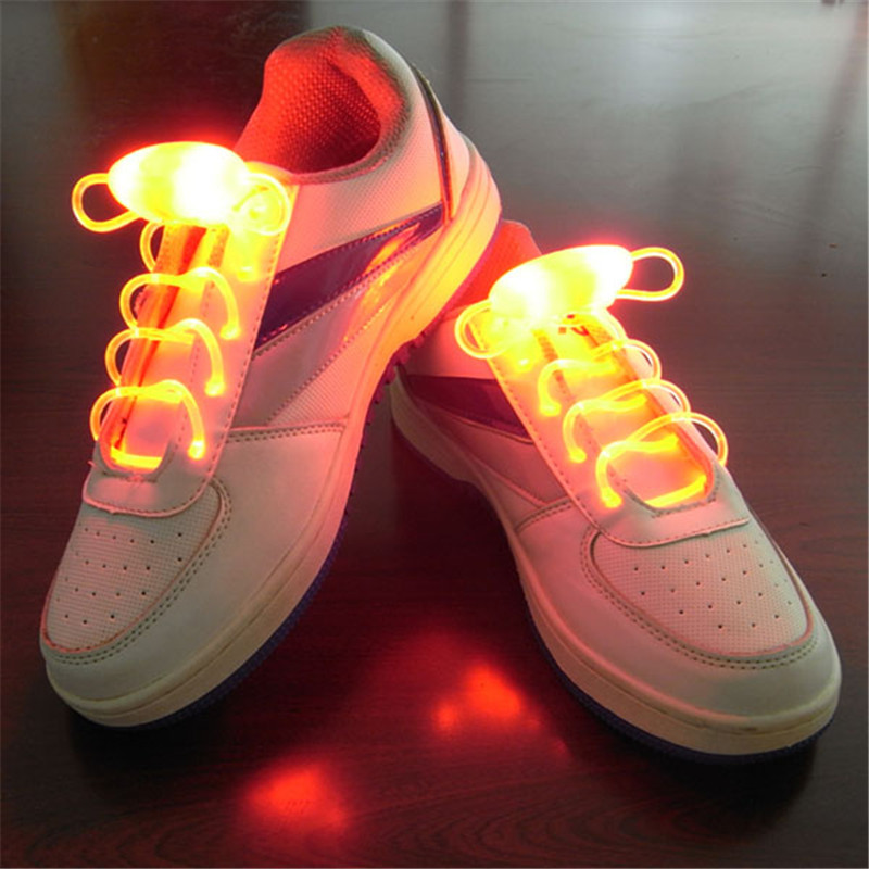 Multi-Color Party Skating Charming LED Flash Light Up Glow Shoelaces Shoe Laces Shoestrings Decorations