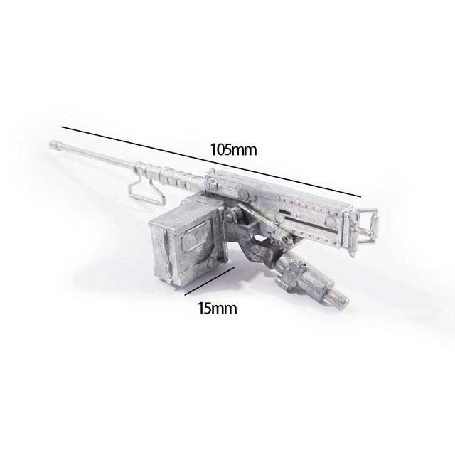 free shipping mato1 16 metal 50 cal heavy machine gun model sherman