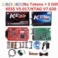 High Performance KESS V2 07 Master Version No Tokens Limitation KESS V2 Add OBD2 Function Manager