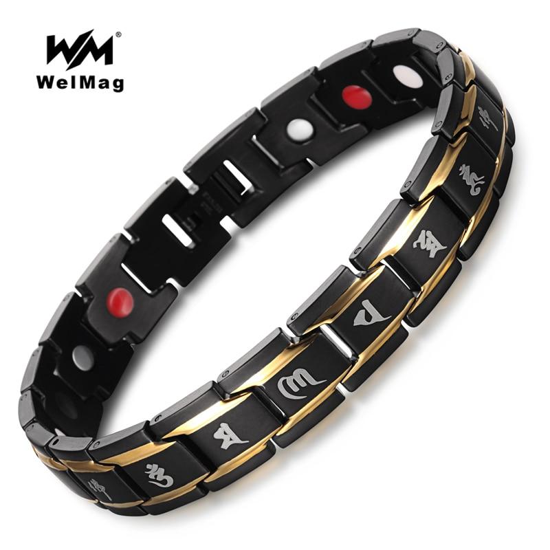 WelMag Magnetarmbänder & Armreifen verbessern die Durchblutung - Modeschmuck - Foto 1