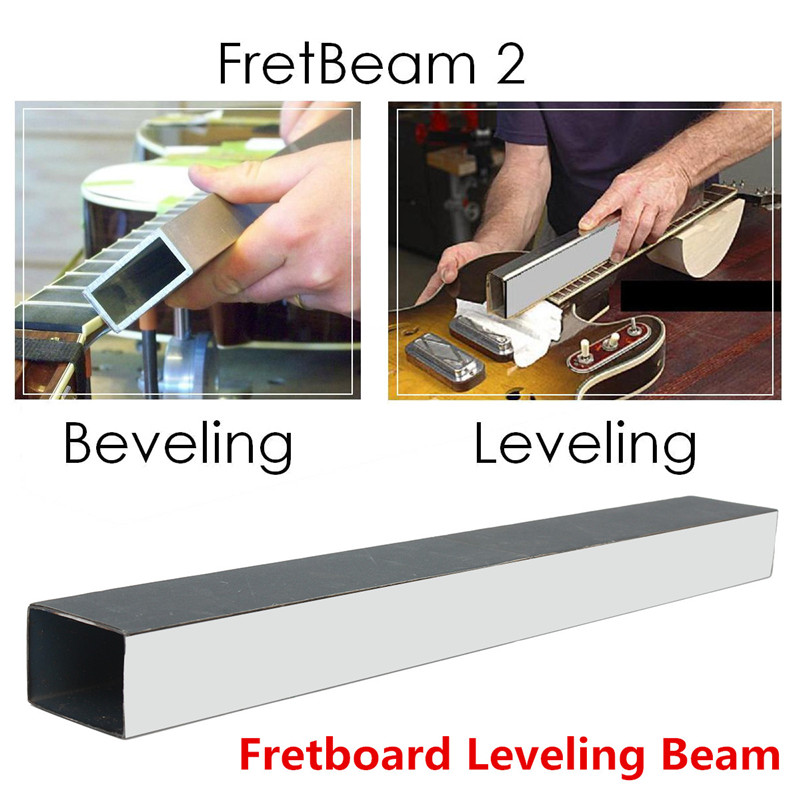 Guitar Techs Folk Guitar Bass Sanding Beam Luthier Tools Fret Leveling Beam Musical Stringed Instruments Guitar Accessories enlarge