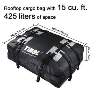 Image 3 - ทิโรลกันน้ำTop Carrier Cargoกระเป๋าเดินทางเดินทางกระเป๋า (15 ลูกบาศก์ฟุต) สำหรับยานพาหนะหลังคารางT24528a