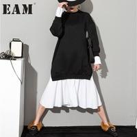 Soonyour 2016 Autumn And Winter The New Listing Women S Korean Mosaic Sweatshirts Dress AS20941