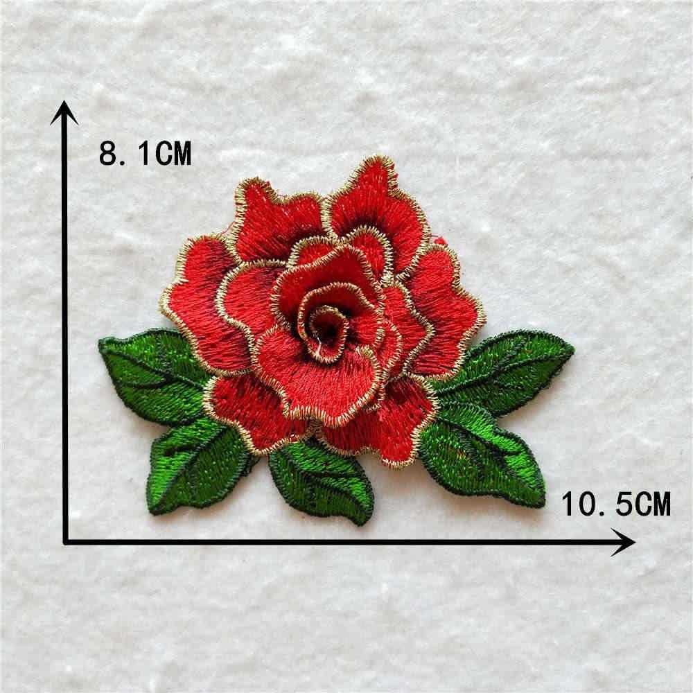아름 다운 꽃 자 수 레이스 neckline 칼라 옷 트림 목 applique 드레스 바느질 용품 공예 액세서리 1 pcs 판매