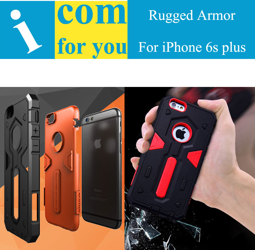 size 40 1de5f 39643 Nillkin Defender 2 High impact Combo Tough Rugged Armor case cover for  iPhone 6s plus on Aliexpress.com | Alibaba Group