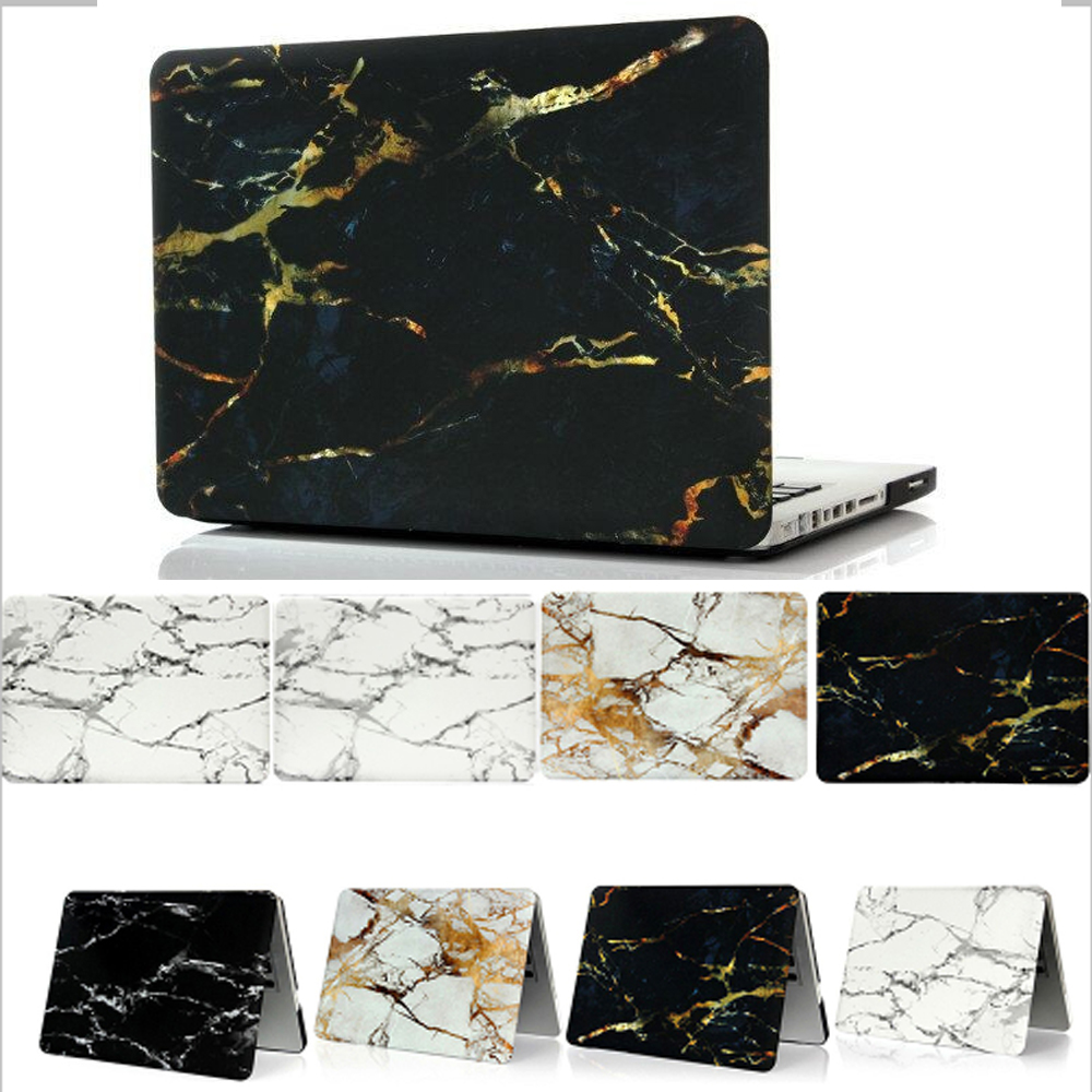 Marble Texture Funda dura para Apple Macbook Air 11 13 Pro 12 13 15.4 - Accesorios para laptop - foto 1