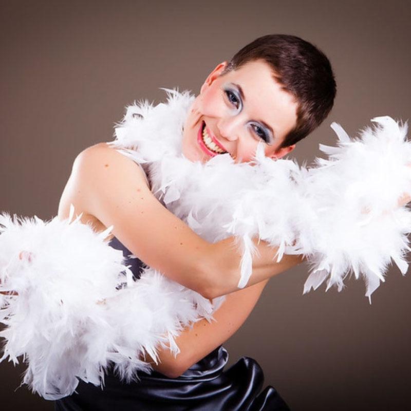 2 jardas/lote natural macio peru pena boa plumas traje festa decorativa penas coloridas para artesanato casamento festival pluma