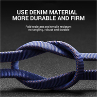 cable samsung USB Type C Cable For Huawei Samsung Xiaomi USBC Mobile Phone Cable Fast Charging TypeC 3M Long Wire Cable For USB Type-C Devices (4)