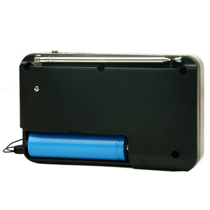 Image 5 - Mini Tragbare Radio Handheld Digital FM USB TF MP3 Player Lautsprecher Wiederaufladbare