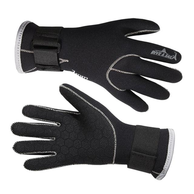 a1829f3e328f3 Buceo y vela de neopreno de 3mm de buceo guantes de alta calidad guantes  para nadar