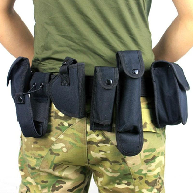 Taktische Sicherheitspolizei Guard Utility Kit Dienstgürtel - Sportbekleidung und Accessoires - Foto 1