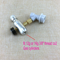 Homebrew kegging,Premium Regulated CO2 Charger with ball lock fitting,mini CO2 Regulator,3/8 thread co2 thread