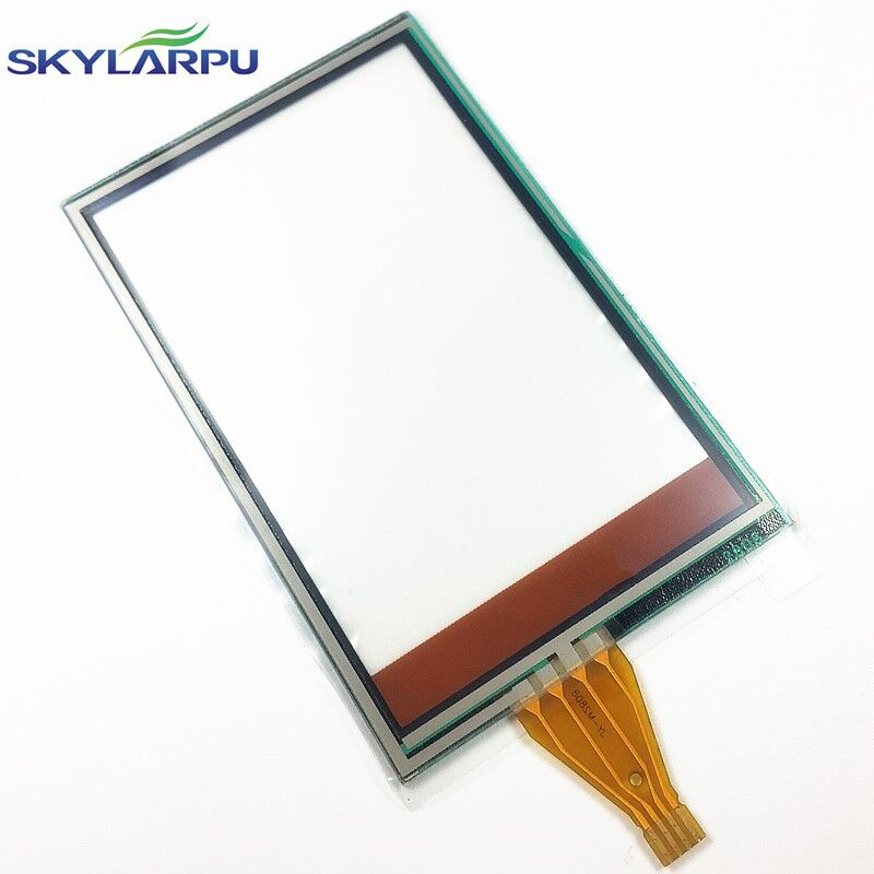 skylarpu 2.6 inch TouchScreen for Garmin Rino 610 650n Handheld GPS Touch Screen Panels Digitizer Glass Repair replacement skylarpu touch panel for garmin montana 600 650 gps nnavigation touch screen digitizer glass sensors parts replacement