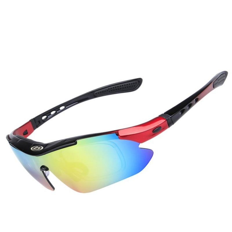 Esportes ao ar Óculos de Sol Ciclismo Livre Permutáveis 5 Lentes Sp0868 Uv400  Polarizada Óculos de Sol Pesca a3dbb4df77