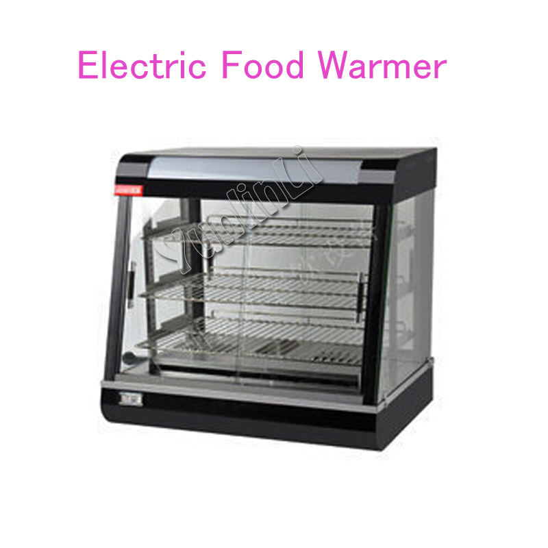 Commercial Stainless Steel Electric Food Warmer Three layers Keep Food Warm Heated Display Cabinet Warming Showcase FY-601 hot dog display electric food warmer stainless steel food warmer cabinet warmer showcase warmer display