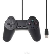 USB 2.0 الألعاب غمبد المقود السلكية أذرع التحكم في ألعاب الفيديو لأجهزة الكمبيوتر المحمول الكمبيوتر Z16