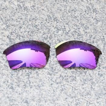 E O S spolaryzowane wzmocnione wymienne soczewki do okularów Oakley Half Jacket 2 0 XL-fioletowe fioletowe lustro spolaryzowane tanie i dobre opinie Eye Opening Stuff Poliwęglan Okulary akcesoria Fit for Oakley Half Jacket 2 0 XL Frame UV400 One size inches As your choice