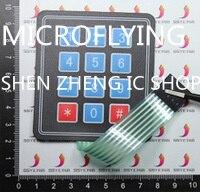 5 PCS 3*4 Matriz Do Teclado Teclado Interruptor de Membrana Do Painel de Controle SCM Estendido