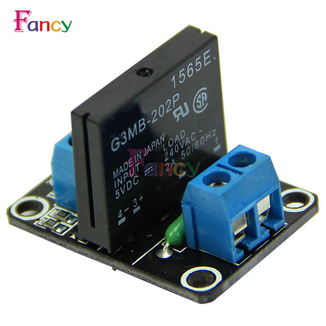 G3MB 202P 5V DC 1 Channel Solid State Relay Board Module For - Solid State Relay Dc Arduino