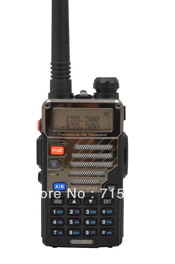 UV-5RB 136-174 MHz (RX/TX) e Uhf400-(TX/RX) Dual Band 5 W/1 W 128CH FM 65-108 MHz con Free Auricolare Radio A due vieUV-5RB 136-174 MHz (RX/TX) e Uhf400-(TX/RX) Dual Band 5 W/1 W 128CH FM 65-108 MHz con Free Auricolare Radio A due vie
