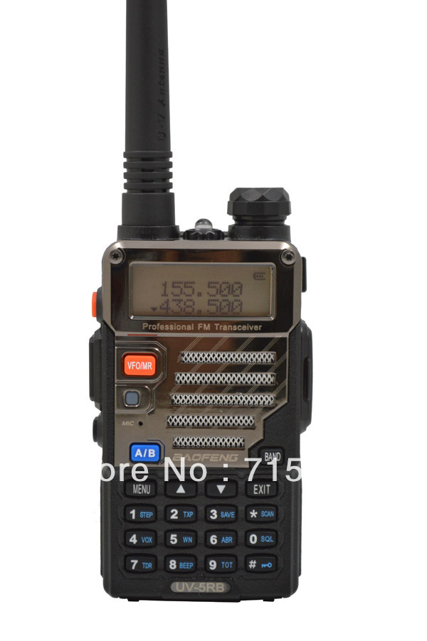 UV-5RB 136-174MHz(RX/TX) & UHF400-520MHz(TX/RX) Dual Band 5W/1W 128CH FM 65-108MHz with Free Earphone Two-way RadioUV-5RB 136-174MHz(RX/TX) & UHF400-520MHz(TX/RX) Dual Band 5W/1W 128CH FM 65-108MHz with Free Earphone Two-way Radio