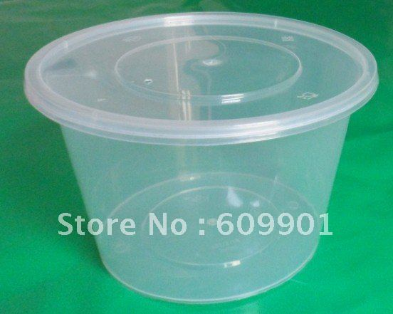Online 1000ml Round Disposable Microwave Plastic Food Container Bowl With Lid Aliexpress Mobile