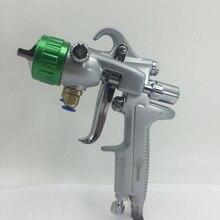 2014 nano chrome plating pistol paint double nozzle spray gun все цены