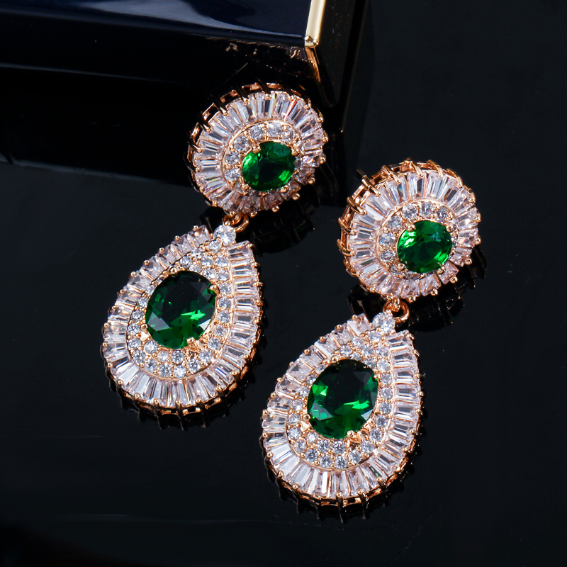 dubai gold earrings 6
