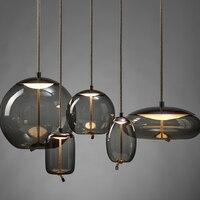 BROKIS Knot Glass Pendant Lights Lighting Nordic Minimalist Led Designer Living Room Hanging Lamp Creative Lustre Lampada Camera