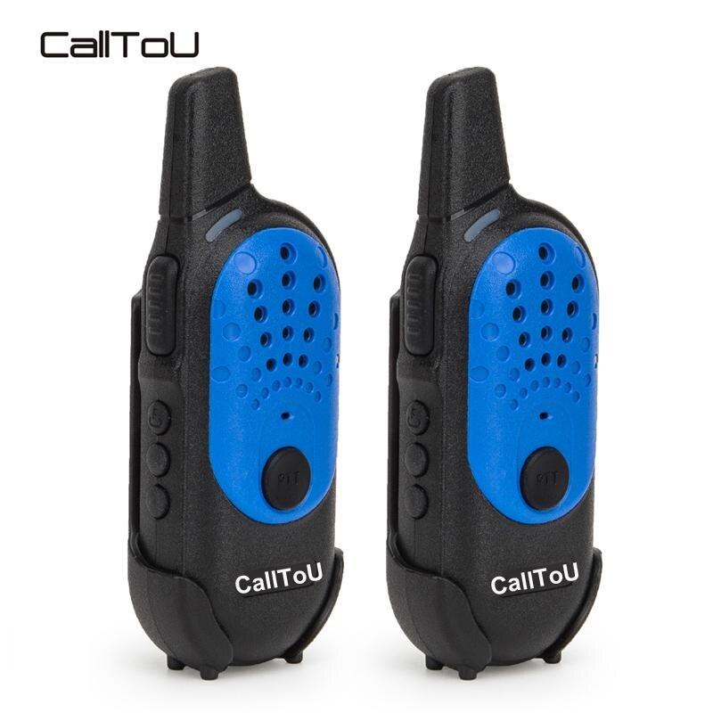CallToU Mini Walkie Talkie Kid Children Walkie Talkies 2PCS Two Way Radio Communicator Transceiver USB 400-470MHZ 16 Channels