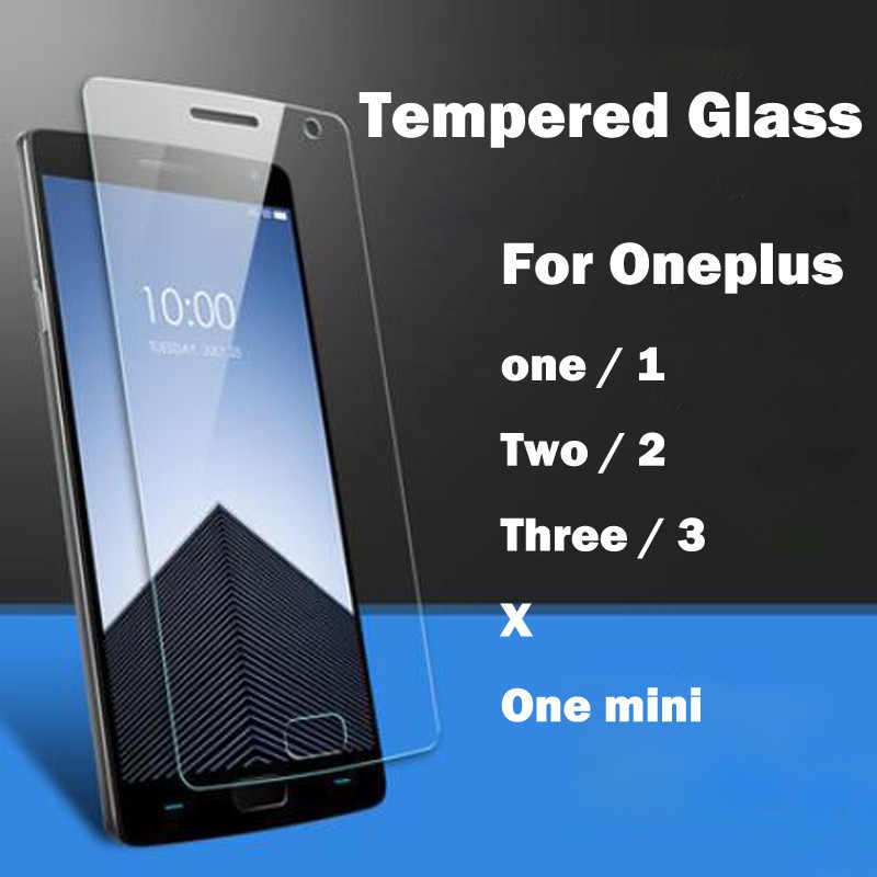 Screen Protector For Oneplus One Two Three X Tempered Glass For One Plus 1 2 3 A0001 A2001 Toughened Explosion Proof Film