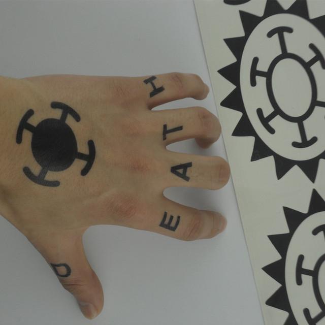 One Piece Trafalgar Law Tattoo
