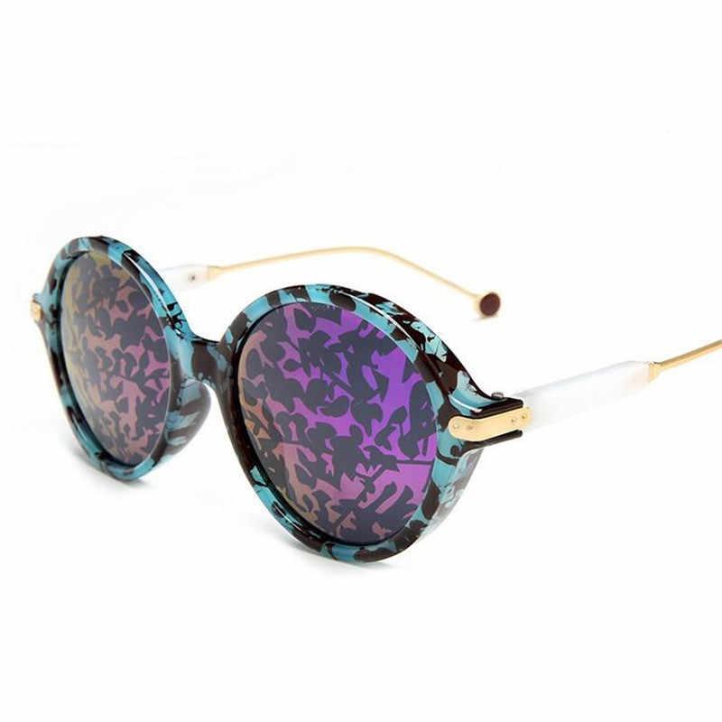 GLTREE 2019 Солнцезащитные очки женские модные круглые роскошные солнцезащитные очки Брендовые Дизайнерские мужские ретро маленькие красные очки окуляры очки UV400 G75