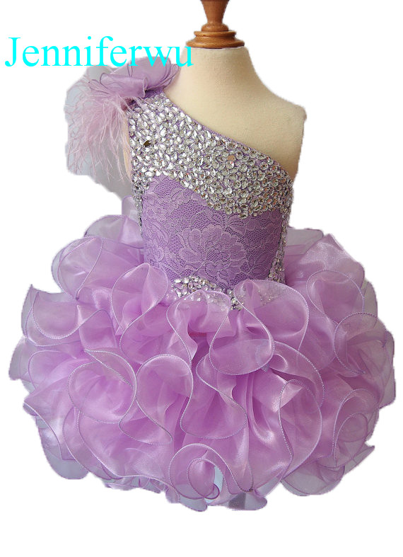 цена stone beaded  infant and toddler girl pageant dress 1T-6T G095-4 онлайн в 2017 году