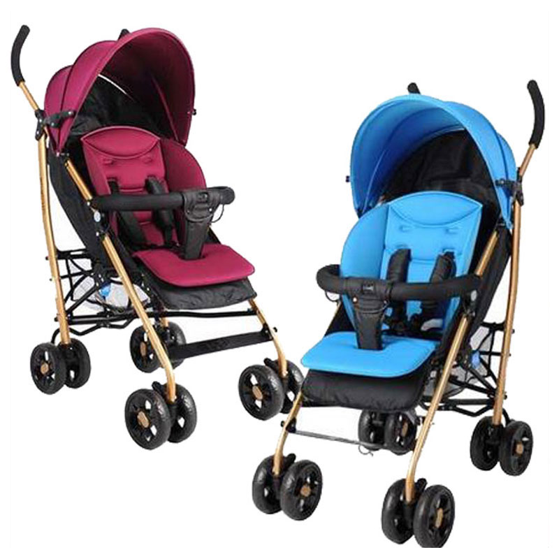 Baby Strollers Brands Can Flat Lie Folding High Landscape Baby Umbrella Stroller Portable Lightweight Baby Pram Pushchair 7~36 M 2017 special offer poussette baby strollers aiqi stroller portable foldable high landscape suspension umbrella pram pushchair
