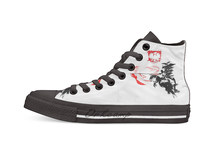 Polish Hussar Casual Hoge Top Canvas Schoenen Sneakers Licht Wandelschoenen(China)