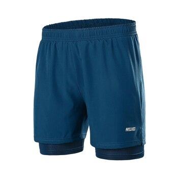 Men's Running Shorts 2 In 1