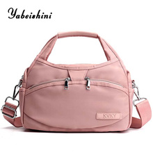 lady Tote nylon cloth bags for women 2019 bag over ladies hand large shoulder reusable shopping Eco Shopper