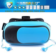 2016 Hot Google cardboard VR Virtual Reality Headset 3D Glasses VR BOX 2.0 For 3.5 – 6.0 inch Smart phone