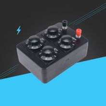 0-9999 Ohm Simple Resistance Box Precision Variable Decade Resistor Teaching Instrument ceramic wirewound rls50r50 euro 50r1 733a variable resistor potentiometer