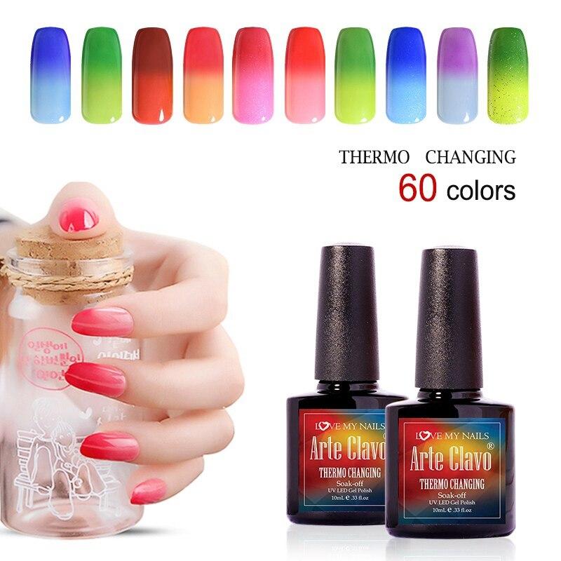 moda colores elegir color de uas de gel de arte pintura arte clavo fashional