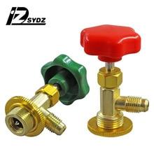 Кондиционер для наполнения жидкости предохранительный клапан R12 R22 R134a R600a открывающийся клапан фреон хладагент открывалка для бутылок