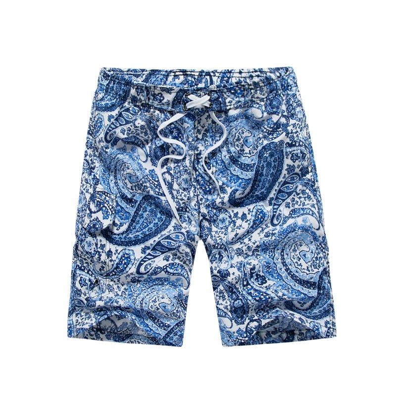 Quick Dry Beach Shorts Men Casual Loose Men's Board Shorts 2018 maillot de bain homme Summer Fitness Pants Shorts Holiday 1615#
