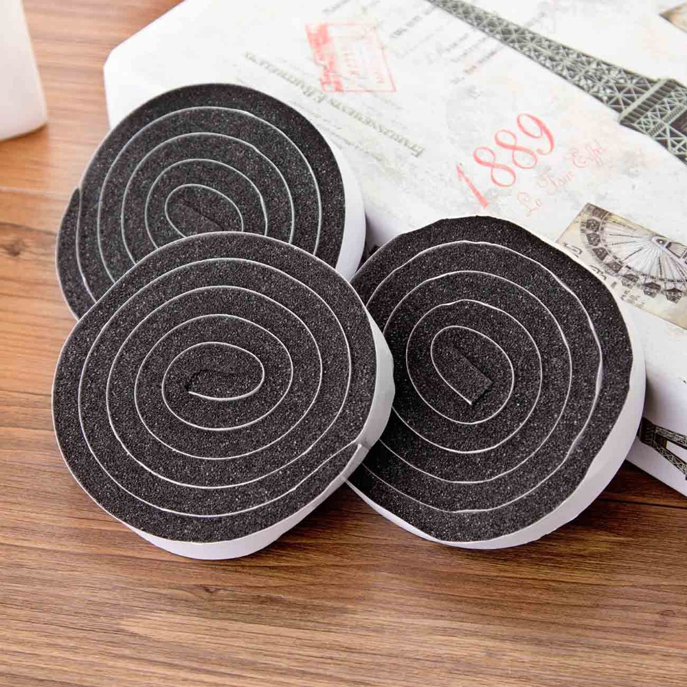 OTHERHOUSE 4Pcs Acoustic Foam Window Door Seal Soundproof Insulation EVA Window Dusting Sealing Tape Weather Strip Household