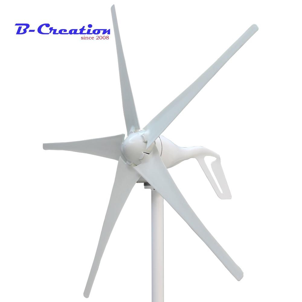 2018 Vente Réel Gerador De Energia Vent Générateur, 3/5 Lames Pour Turbine Ce et rohs Approbation Puissance Générateur + Contrôleur à vent