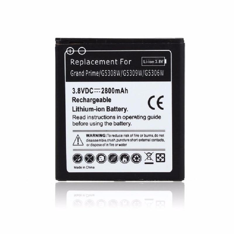 100% 2800 mAh Sostituzione Li-Ion Per Samsung Galaxy Gran Prime G5308W EB-BG530BBC G5309W G5306W batteria Del Telefono